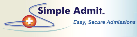 link to Simple Admit Management home page